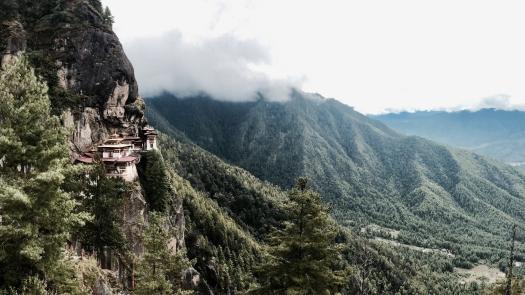 tiger's nest / taktsang in paro, bhutan