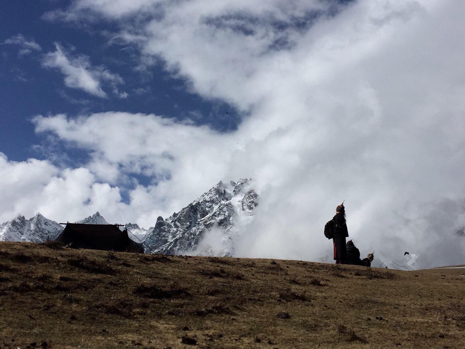 highland-festival in laya, bhutan