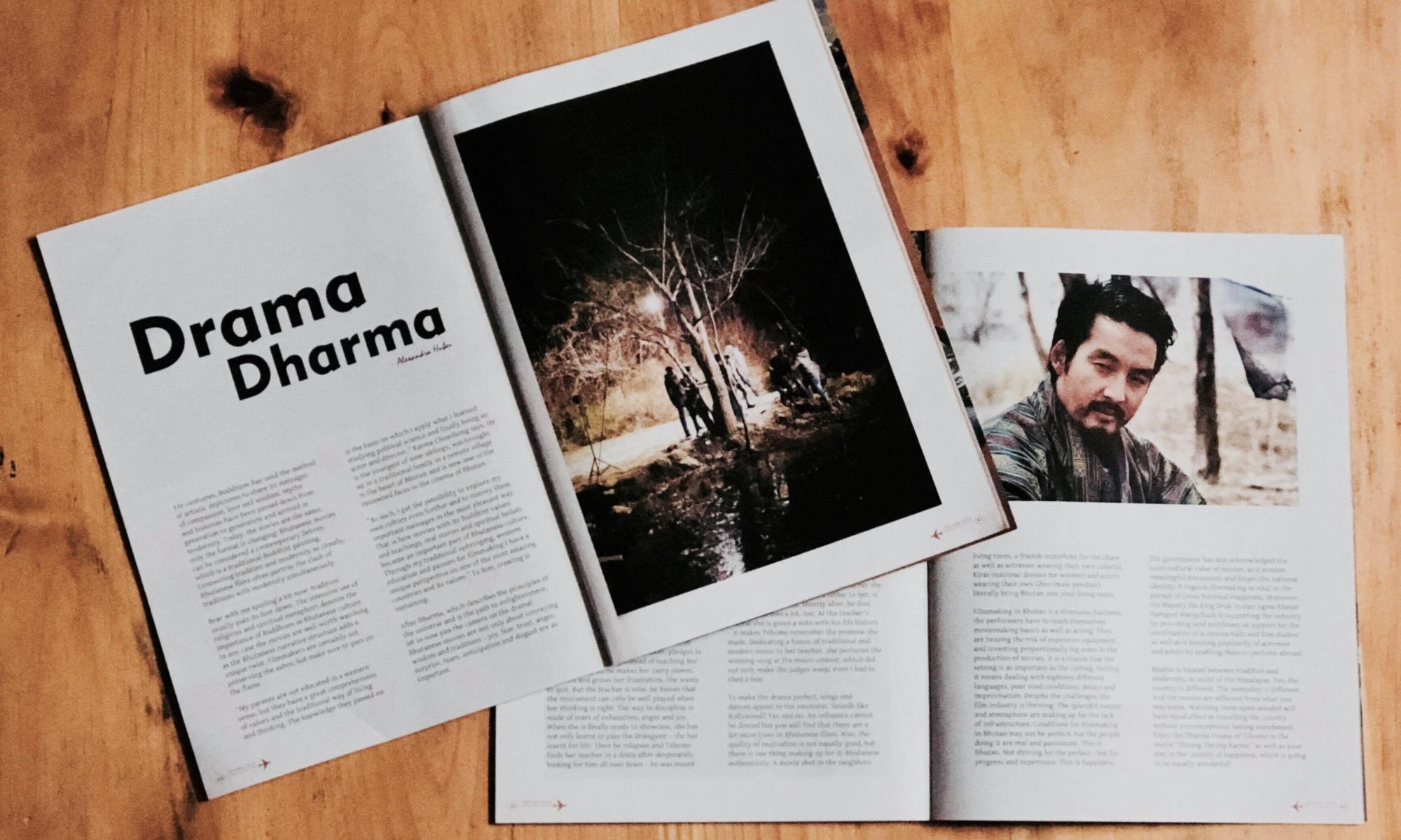 dharma drama article kuzuzangpo la magazine